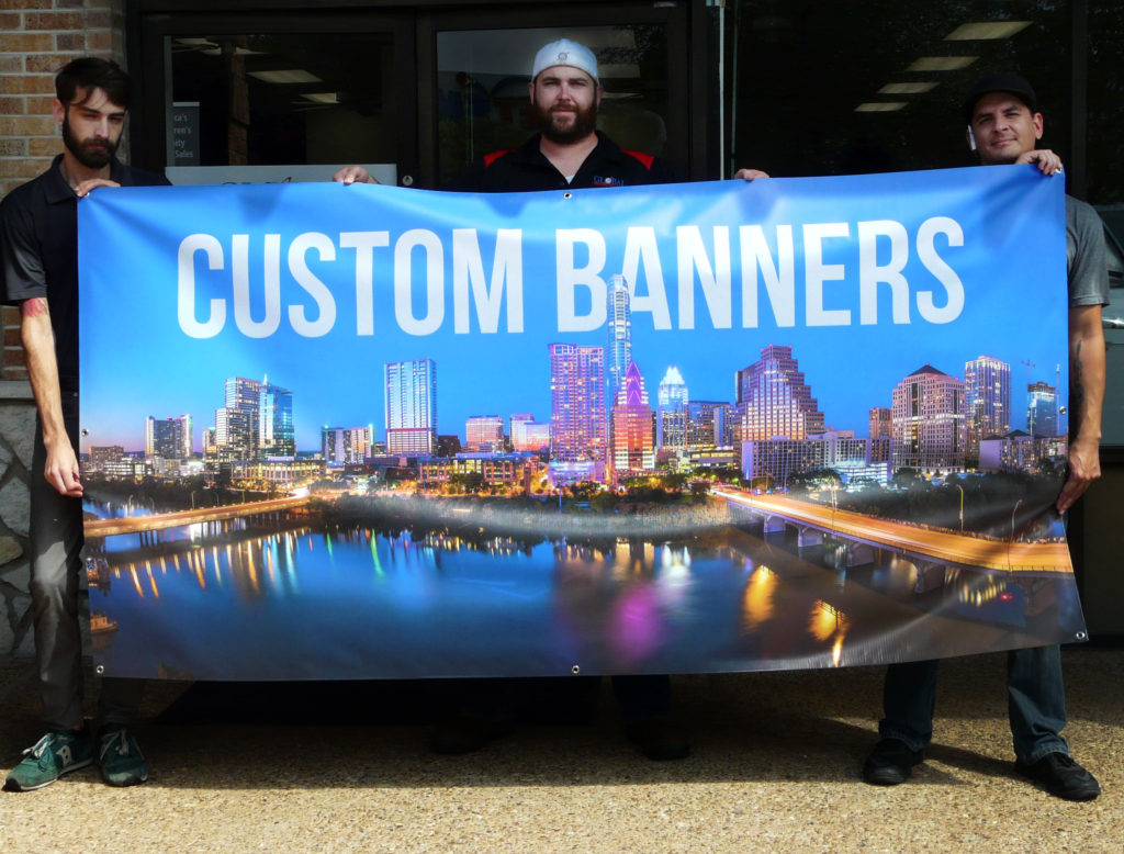 Custom Printed Banners and Graphic Design Services