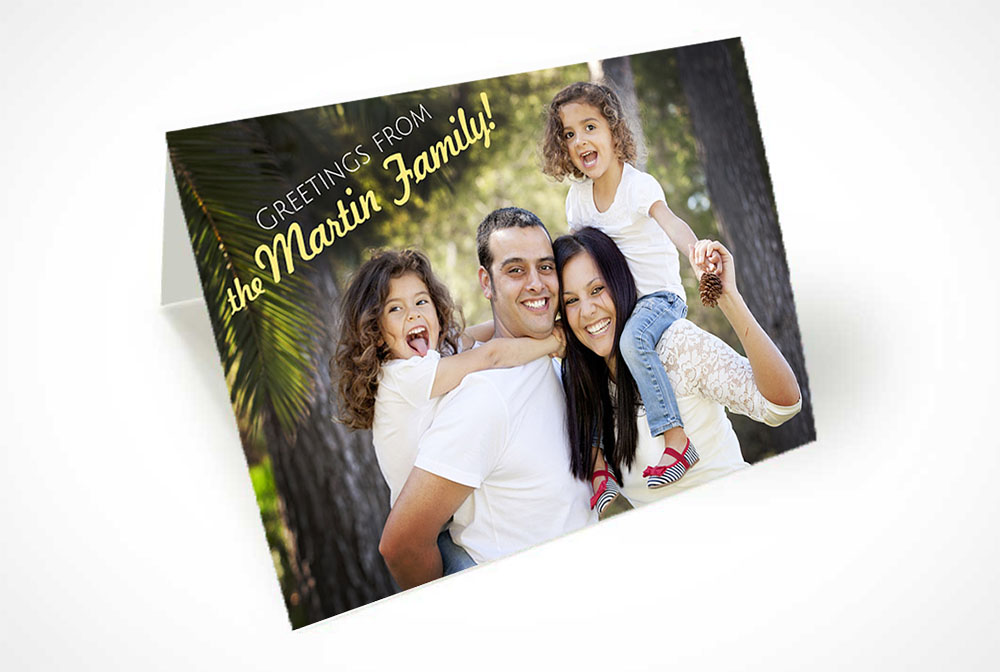Social Family Printing Greeting Card Postcard Custom Design