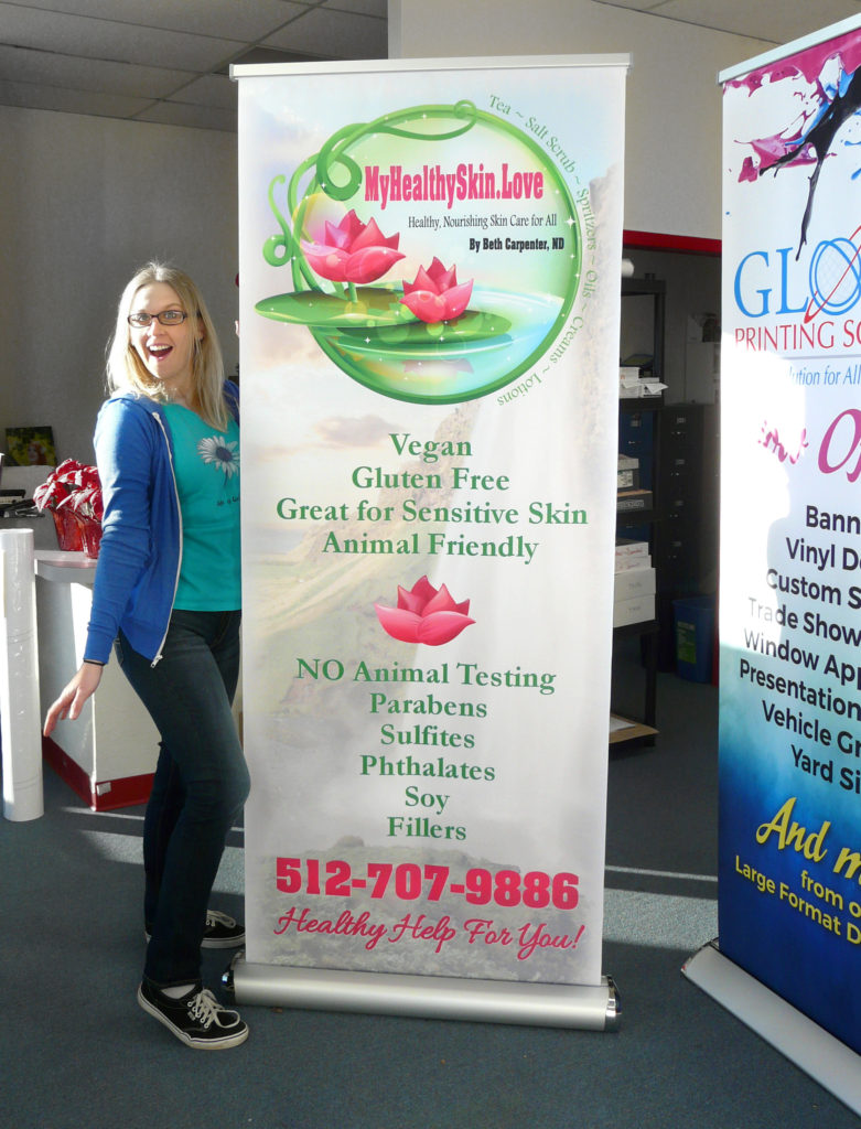 Pop Up Banner Retractable Banner Trade Show Display