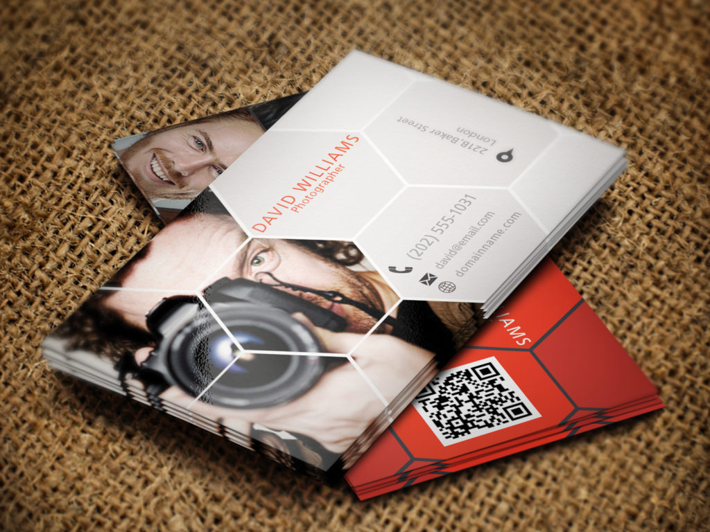 Custom Photographer Business Card