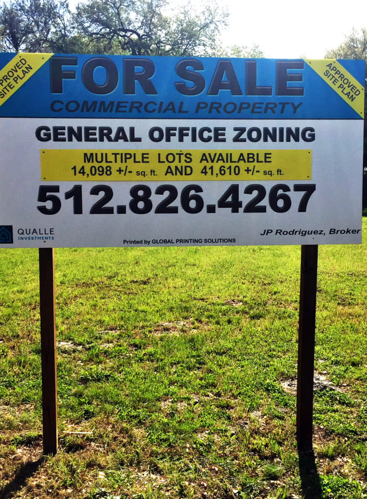 Custom Sign for Realtors