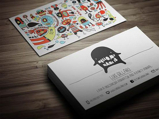 Artist Business Card Printing
