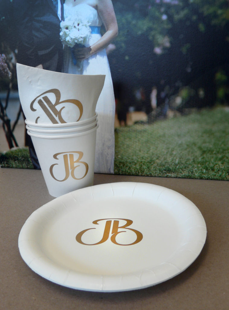 Custom Printed Paper Cups Plates Napkins in Austin