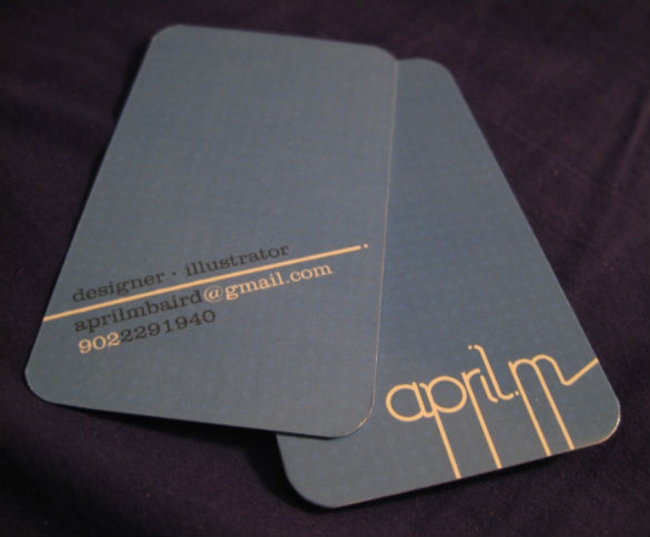 Custom Printed Designer Business Card