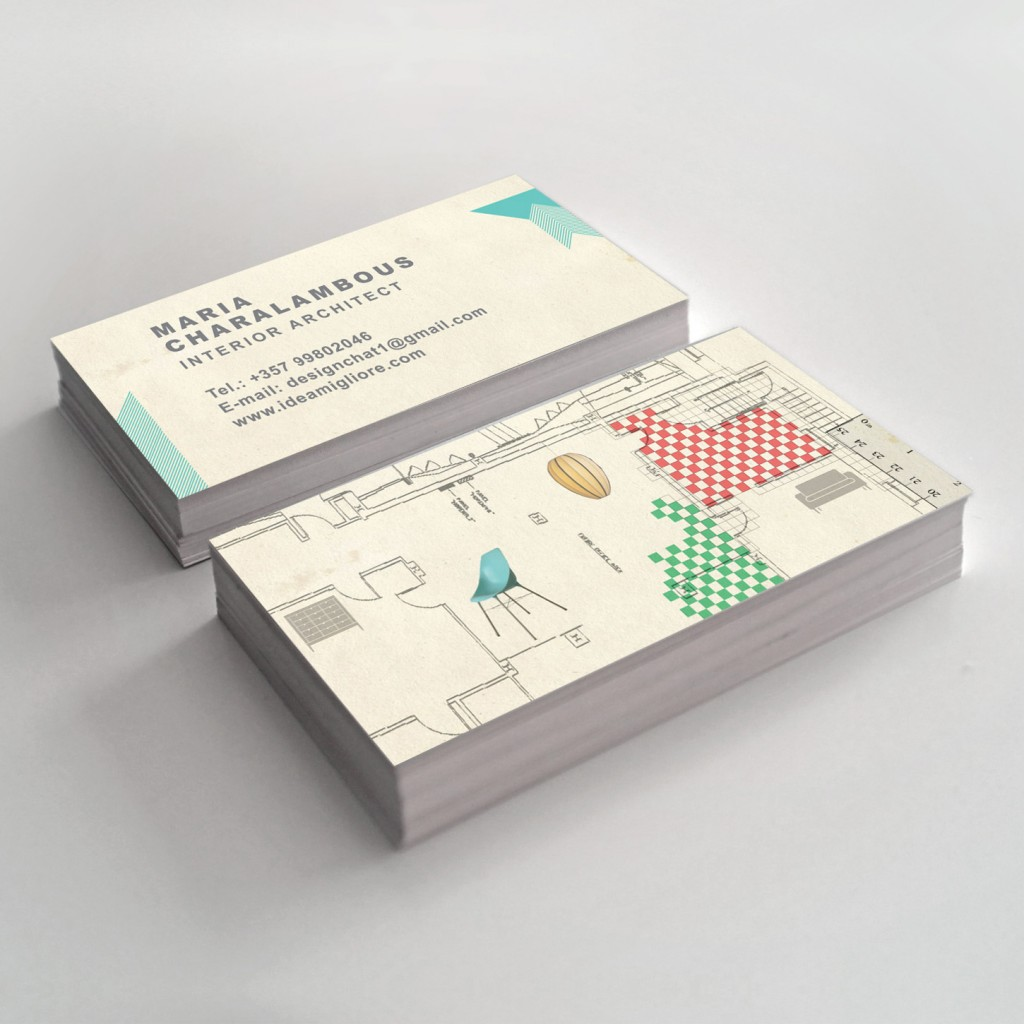 Custom Business Card Design Interior Designer