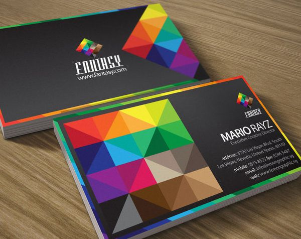 Custom Business Card Printing for Graphic Designer