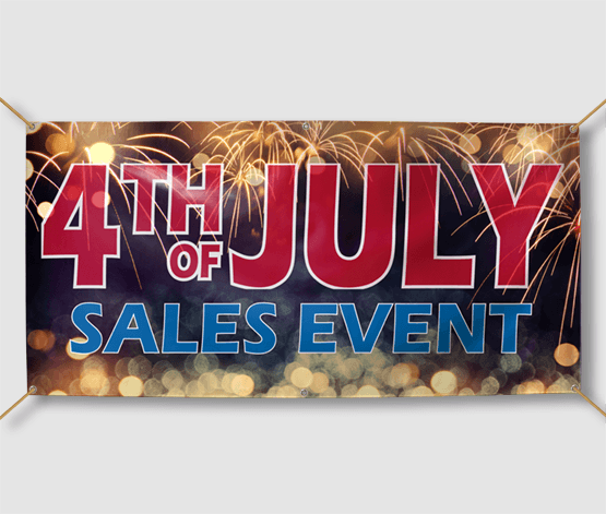 Sales Event Banner Printing