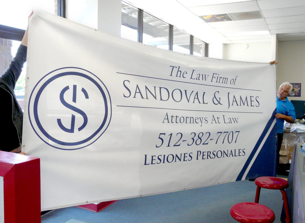 Extra Large Custom Printed Banner
