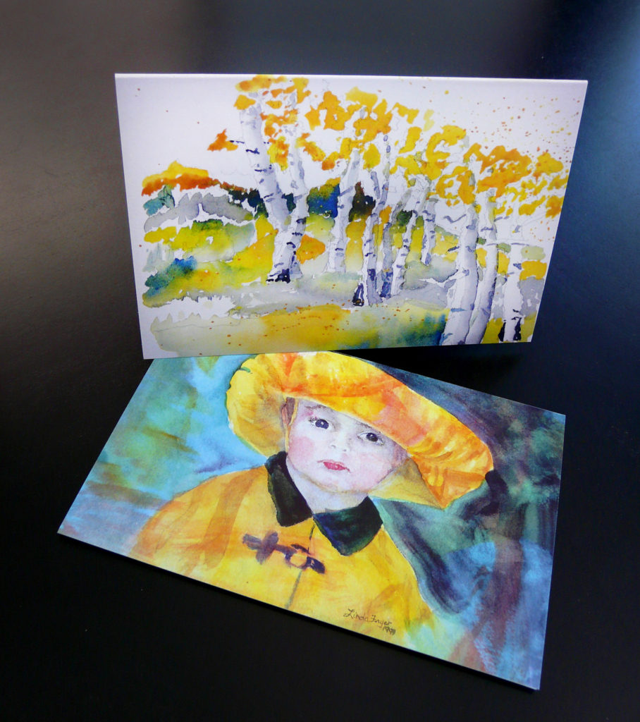 Custom Greeting Cards by Local Artist Linda Fryer