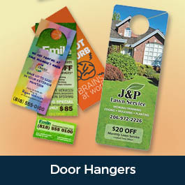 Custom Printed Door Hangers in Austin Texas