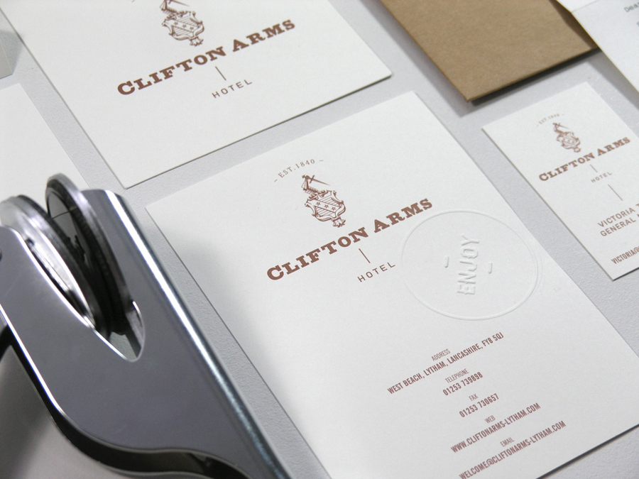 Custom Embossed Menu Printing
