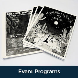 Event Programs Booklets Itinerary