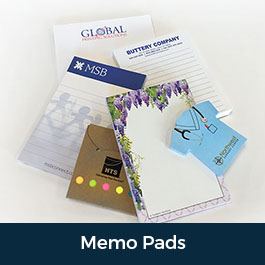 Custom Printed Memo Pads Notepads Scratch Pads Branding Business Office Supply