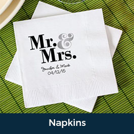 Napkins Party Tableware Custom Printed