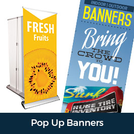 Pop Up Banner Retractable Banners Trade Show Display