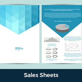 Sales Sheet and Flyer Printing