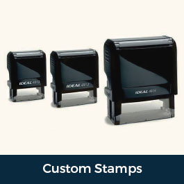 Custom Rubber Self Inking Stamps