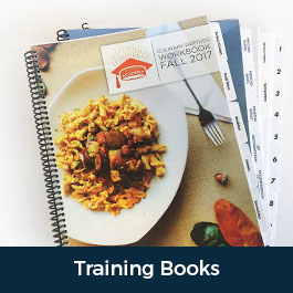 Custom Printed Training Books